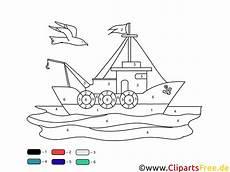 Malvorlage Nach Zahlen Schiff Ausmalbilder Malen Nach Zahlen Vorlagen
