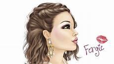 Topmodel Make Up Malbuch Make Up Fergie