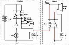grounding wire diagram wiring trigger relay only from one specific grounding path electrical engineering stack
