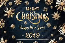 happy new year 2019 merry christmas custom designed graphics creative market