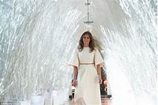 Melania Decorations by Melania Unveils The White House