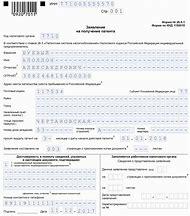 заявление на получение загранпаспорта старого образца