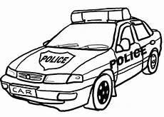 Ausmalbilder Polizeiauto The Free Colouring Pages