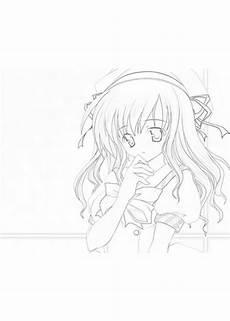 Anime Malvorlagen Ausmalbilder Anime Calendar June