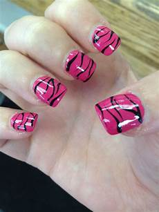 zebra print nail design nails zebra nail designs