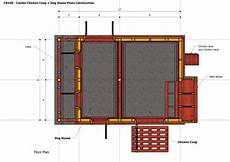 insulated dog house plan home garden plans cb100 combo plans chicken coop
