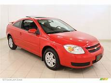 victory red 2005 chevrolet cobalt ls coupe exterior photo