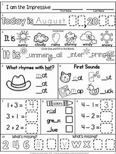 s day worksheets grade 1 20359 morning work freebie grade august packet back to school beginning year morning work