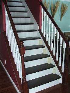 remodelaholic 100 carpeted stair to wooden tread