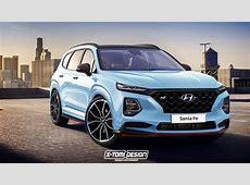 2019 Hyundai Santa Fe N Rendering Is Too Good To Be True