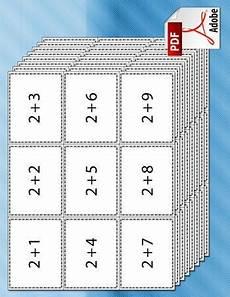 math facts flash cards printable 10765 a set of printable addition flash cards for with addition p jogos matem 225 ticos ensino