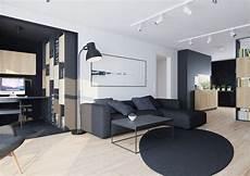 anthrazit sofa welcher teppich modernes wohnzimmer mit dunklem sofa einrichten 55 ideen