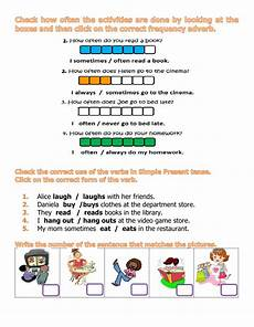 grammar worksheets adverbs of frequency 24690 frequency adverbs interactive worksheet