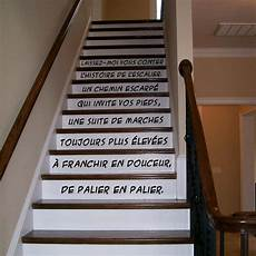 stickers l escalier stick