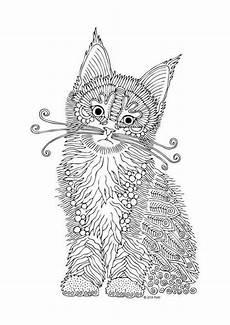 mandala ausmalbilder katzen kinder ausmalbilder