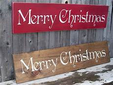 large rustic merry christmas sign primitive sign