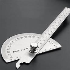 Winkel Messen Mit Zollstock - stainless steel 180 degree protractor angle finder