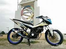 Modifikasi Motor Sonic 2018 by Modifikasi Honda Sonic 150r Terbaru 2018