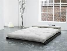 letto futon divano letto futon chaise longue figo nero zen vivere zen