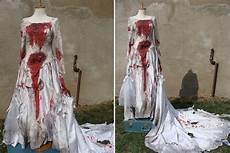 bloody wedding dress halloween wedding dress halloween
