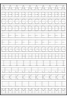 handwriting worksheets for alphabet 21877 tracing alphabet for writing practice mit bildern arbeitsbl 228 tter zum alphabet