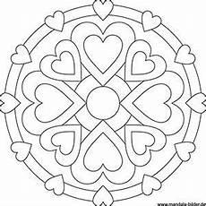 Ausmalbilder Zum Valentinstag Valentinstag Mandala Gratis Ausmalbild Mit Bildern