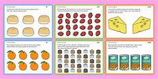 differentiated food division ks1 worksheets primary resource