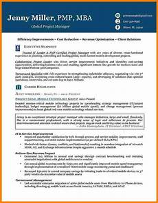 6 executive resume template professional resume list