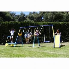 playground swing sets amazing saving on metal swing set walmart