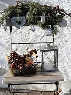 Deko Stuhl Garten - adventsdeko stuhl deko aus naturmaterial deko