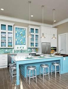 meuble cuisine bleu la cuisine bleu on l adore deco cool