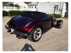 repair anti lock braking 1997 plymouth prowler electronic toll collection find used 1997 purple plymouth prowler 11k miles like new convertible very rare steal in