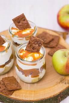 apfel karamell dessert rezept karamellkekse dessert