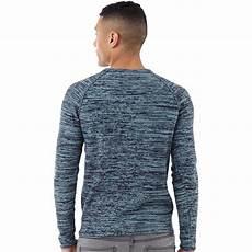 and jones herren ian pullover mit rundhalsausschnitt blau