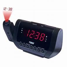 Time Projection Dual Alarm Timing Date by Naxa 97086505m Projection Dual Alarm Clock Shop Your Way