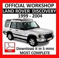 free service manuals online 2001 land rover discovery electronic throttle control official workshop manual service repair land rover discovery 1999 2004 ebay