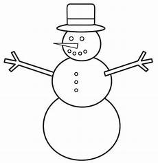 how to draw snowman coloring page color