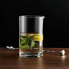 cocktail mixing glass reviews crate and barrel