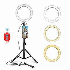Inch Ring Light With Tripod Stand by Selfie Ring Light 10 Inch With Adjustable Tripod Stand