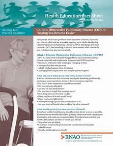 chronic obstructive pulmonary disease copd fact sheet chronic obstructive pulmonary disease copd helping you breathe better registered nurses