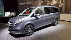 Vorstellung Mercedes V Klasse Leichtes Facelift Und