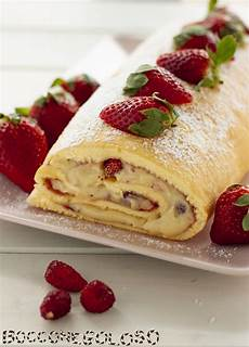 rotolo crema pasticcera rotolo crema pasticcera e fragoline un dolce fresco e goloso gialloblog gialloblogsocial