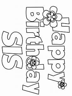 Gratis Malvorlagen Happy Birthday Happy Birthday Coloring Pages Free Printable Happy