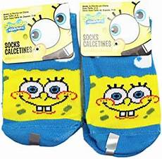 Amazon Com Bluesky 12 Pairs Amazon Com Spongebob Squarepants Sky Blue Normal Smile