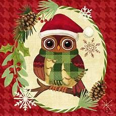 christmas critters owl by brinley ruth levison design owls christmas christmas