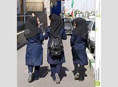 Iranian Highschool Girls Editorial Image   Image: 14946280