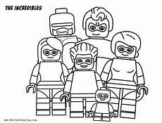 Malvorlagen Lego Incredibles Lego Incredibles Coloring Pages Free Printable Coloring