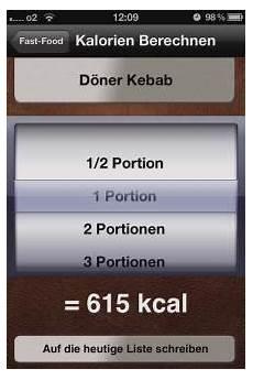 kalorien rechner pro benjamin lochmann apps
