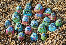 Rock Painting Painting On Rocks And Stones Owls