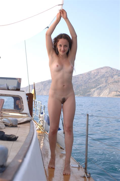 Nude On Yacht